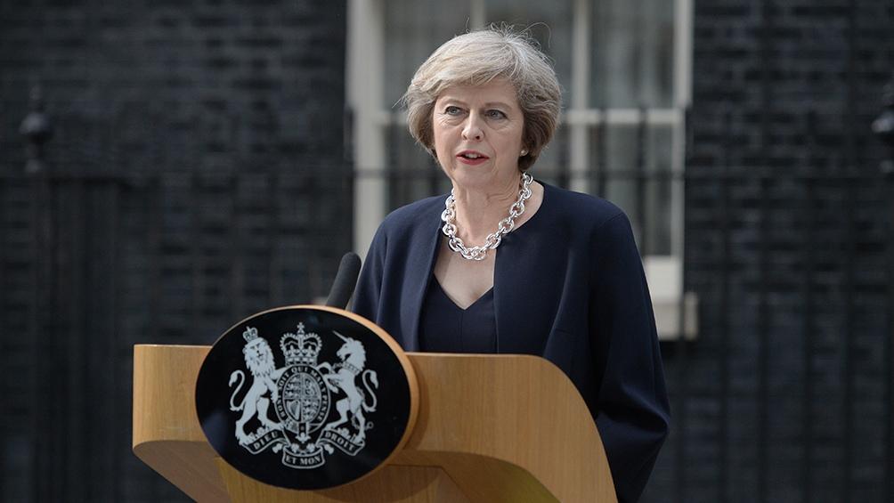 El 25 de mayo de 2019, la expremier Theresa May informó que a partir del 7 de junio de dicho año renunciaría como líder del Partido Conservador