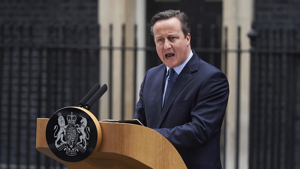 Cameron había prometido realizar la consulta tras ganar las elecciones parlamentarias de 2015