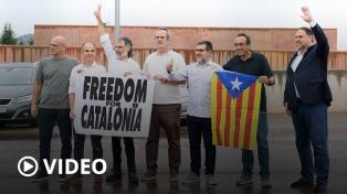 Liberaron a los nueve separatistas catalanes indultados por el Gobierno español