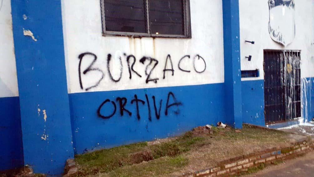 Refuerzan el operativo de Claypole-San Martín de Burzaco por pintadas amenazantes