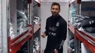 El Kun Agüero anticipó el cumpleaños de Messi con un posteo en una red social