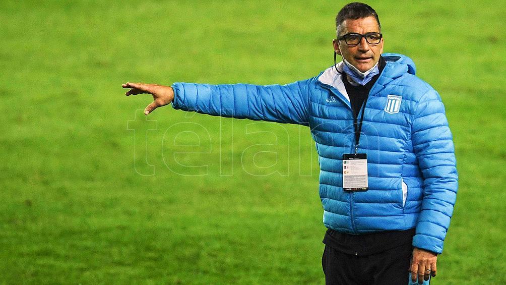 El plantel de Racing se entrenó con miras al choque frente a Aldosivi