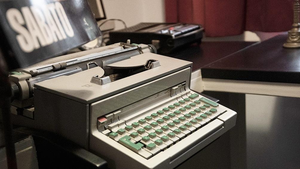 """La máquina de escribir del autor de """"El túnel"""""""