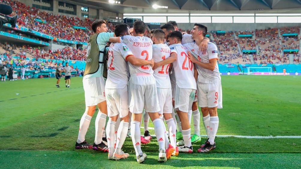 El incremento de contagios también se vincula a las aglomeraciones por la Eurocopa de fútbol. Foto: TW  @SeFutbol