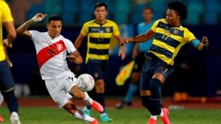 El minuto a minuto del empate entre Perú y Ecuador