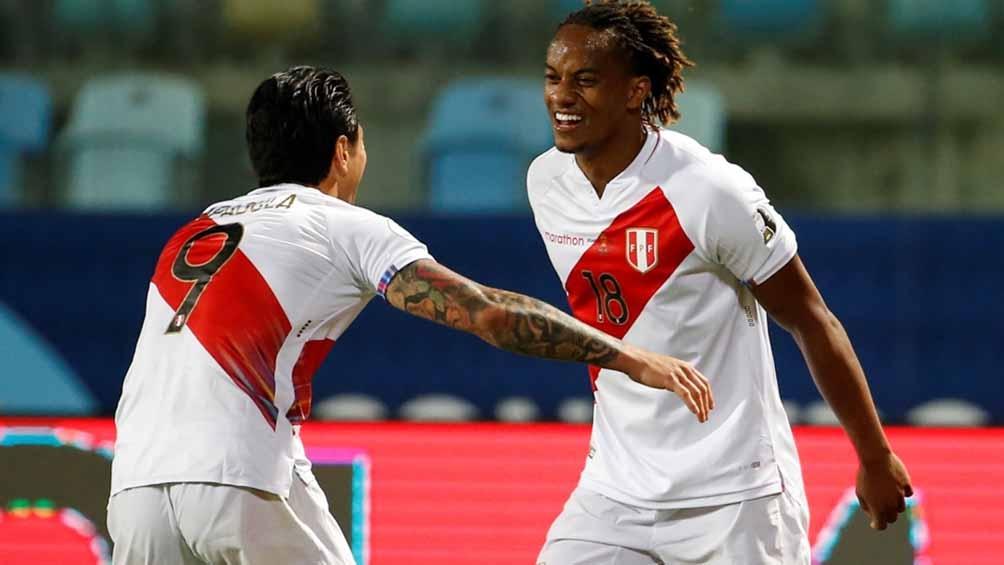 Carrillo y Lapadula, dos de los futbolistas ofensivos de Perú (Foto: CopaAmerica)