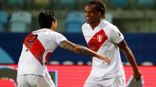 Perú se recuperó y se llevó un empate ante Ecuador
