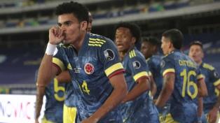 El golazo de tijera de Colombia frente a Brasil