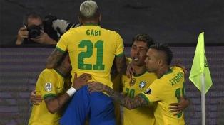 El minuto a minuto de Brasil, que en la última, venció a Colombia