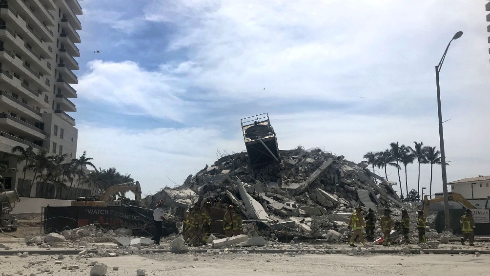 """""""No había nada que hiciera temer que el edificio colapsaría"""", sostuvo un argentino, propietario de dos departamentos."""