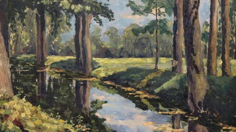 """""""The Moat, Breccles"""", una obra que el ex primer ministro británico le regaló a su amigo el griego Aristóteles Onassis."""
