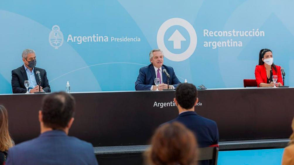 """Fernández dijo que los argentinos """"le vamos a ganar"""" al coronavirus."""