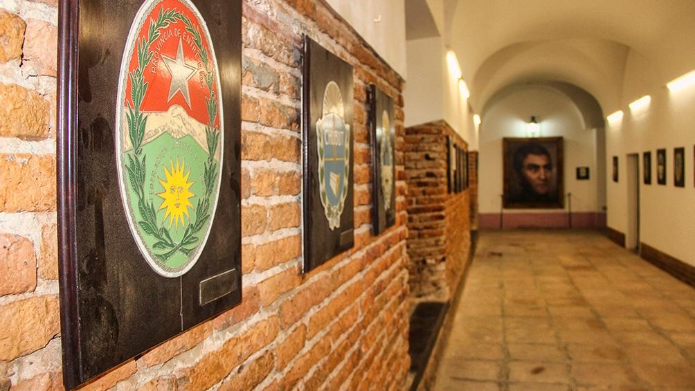 Una obra permite lucir los ladrillos del Convento de San Lorenzo como se veían en 1813.