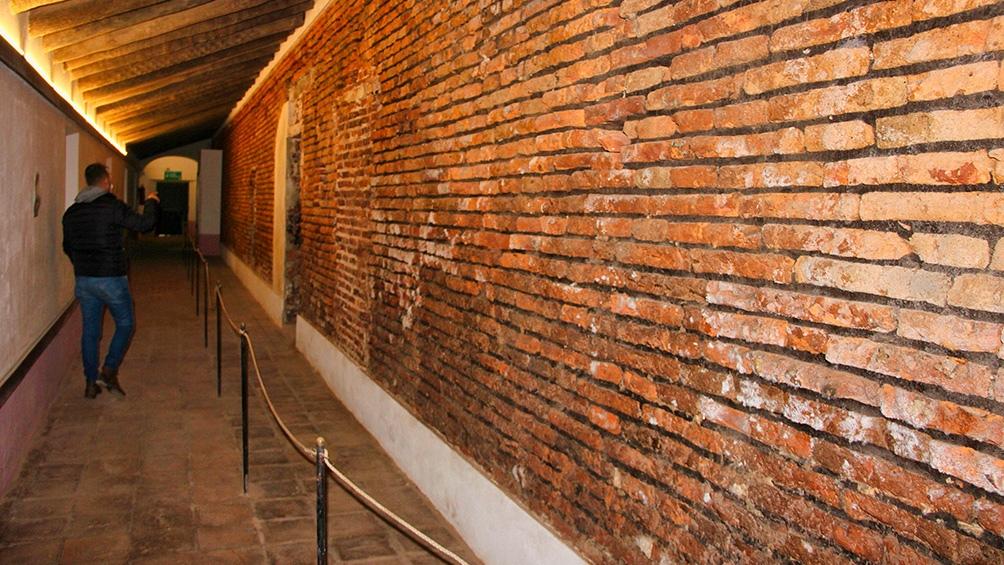 Se mantuvieron selladas todas las aberturas de los claustros mientras se llevó adelante la intervención.