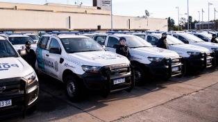 Kicillof destacó el plan integral de seguridad que se aplica en la Provincia