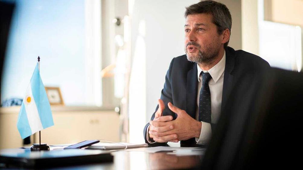 Lammens mantendrá en estos días reuniones con autoridades de AFA y la Liga Profesional