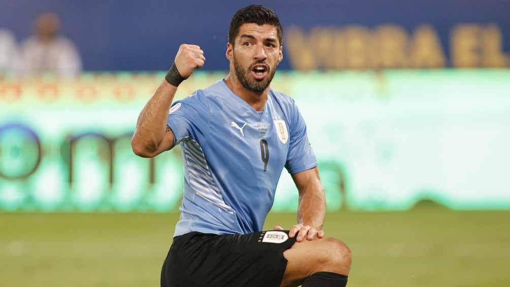 """Luis Suárez, formó parte de la jugada del gol """"Charrúa"""" ante Bolviia (Foto: @CopaAmerica)"""