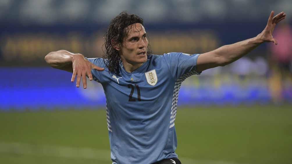Cavani, el autor de uno de los goles de Uruguay ante Bolivia (Foto: @CopaAmerica)