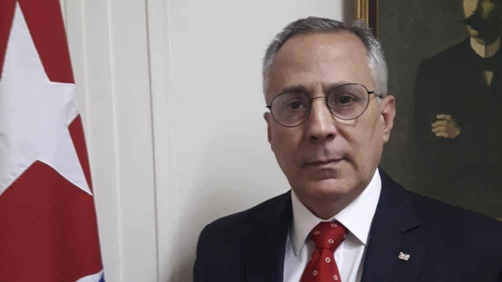 Pedro Prada, embajador de Cuba en Argentina