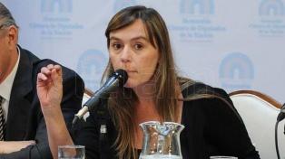 Juliana Di Tullio reemplazará a Taiana en la Cámara alta