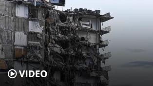 Siguen sin encontrar a 159 desaparecidos por el derrumbe de Miami