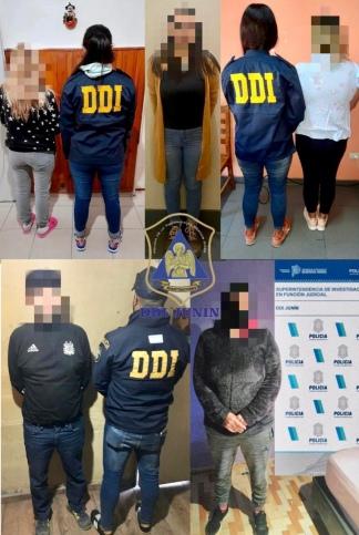 Los acusados quedaron a disposición de la justicia de Junín y de Córdoba.