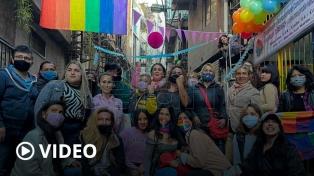 """""""Locrazo del Orgullo"""" en el Barrio 31 para festejar el cupo laboral travesti trans"""