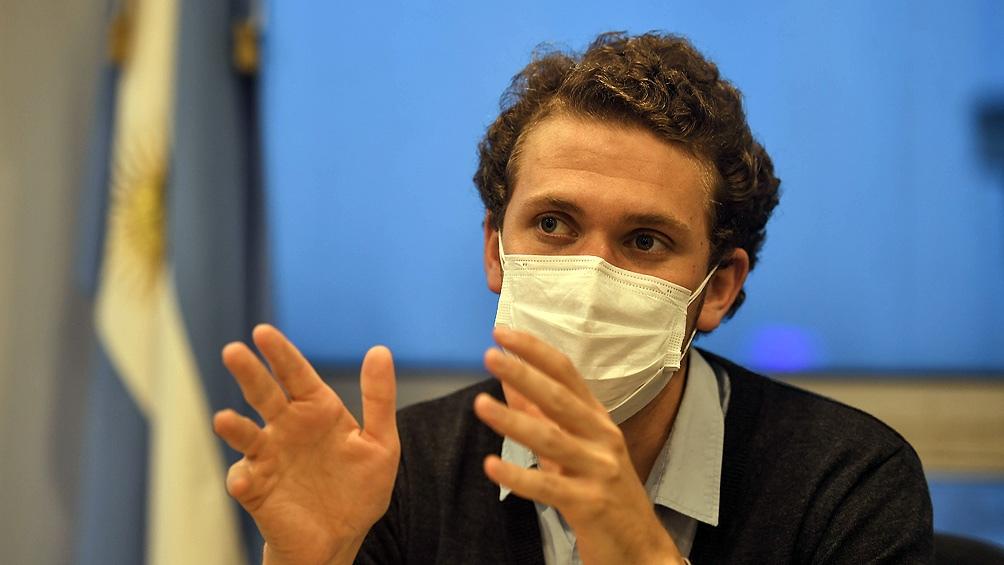 Titular del Fondo Nacional de Capital Social (Foncap), Mateo Bartolini.