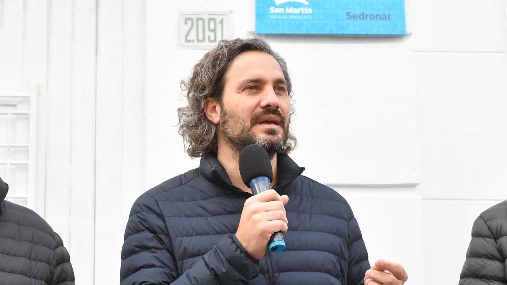 """Santiago Cafiero: """"En estos 18 meses en ningún momento se detuvo el trabajo""""."""
