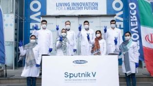Irán comenzó a producir localmente la vacuna Sputnik V