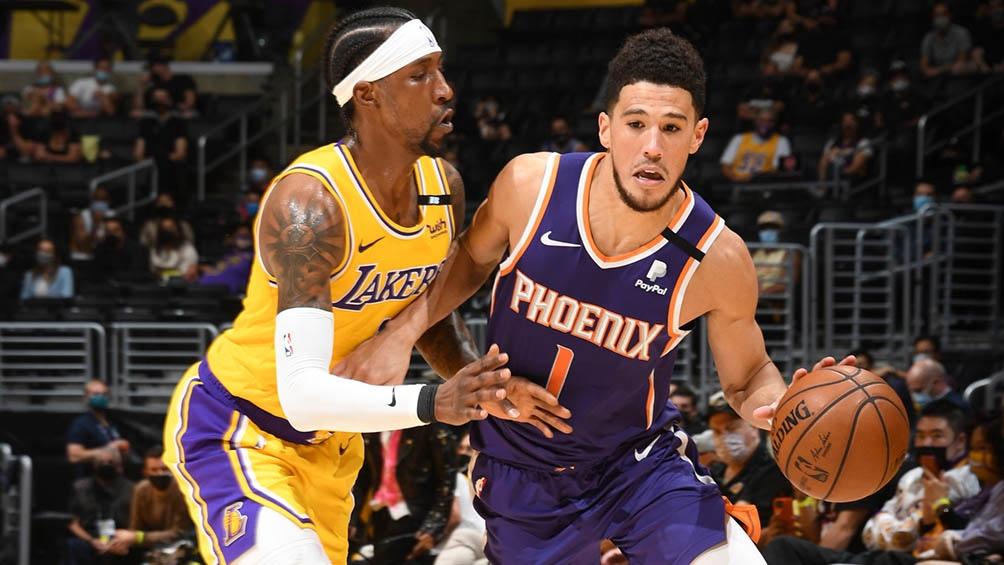 Phoenix Suns le ganó el sábado a Los Ángeles Clippers por 84-80 de visitante en el Staples Center