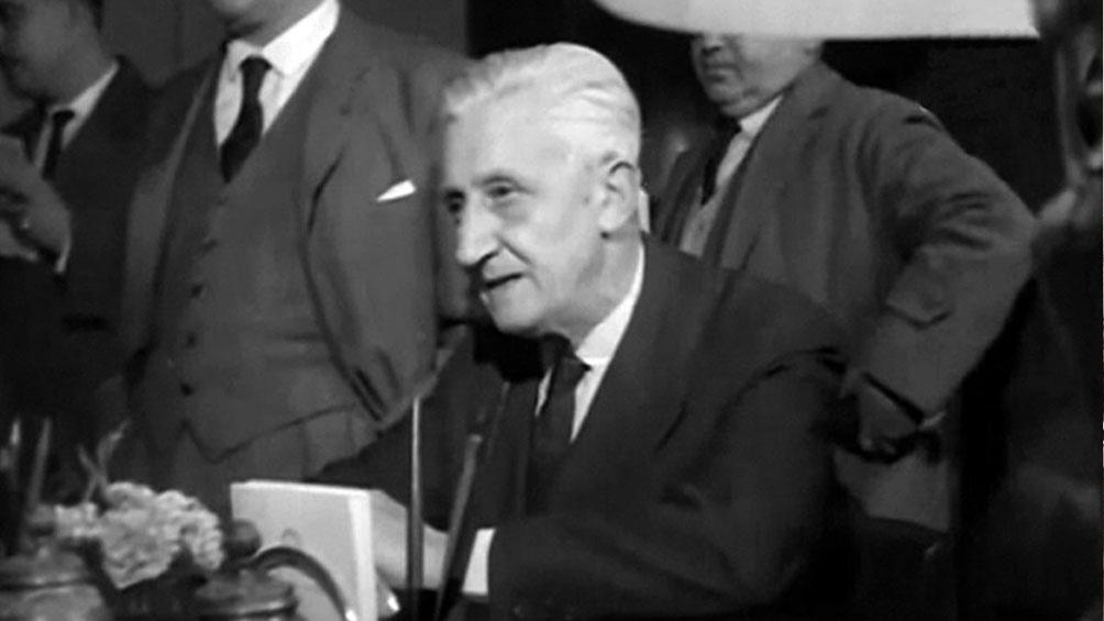 Como candidato presidencial de la UCR, Illia obtuvo el 25.14 por ciento de los votos