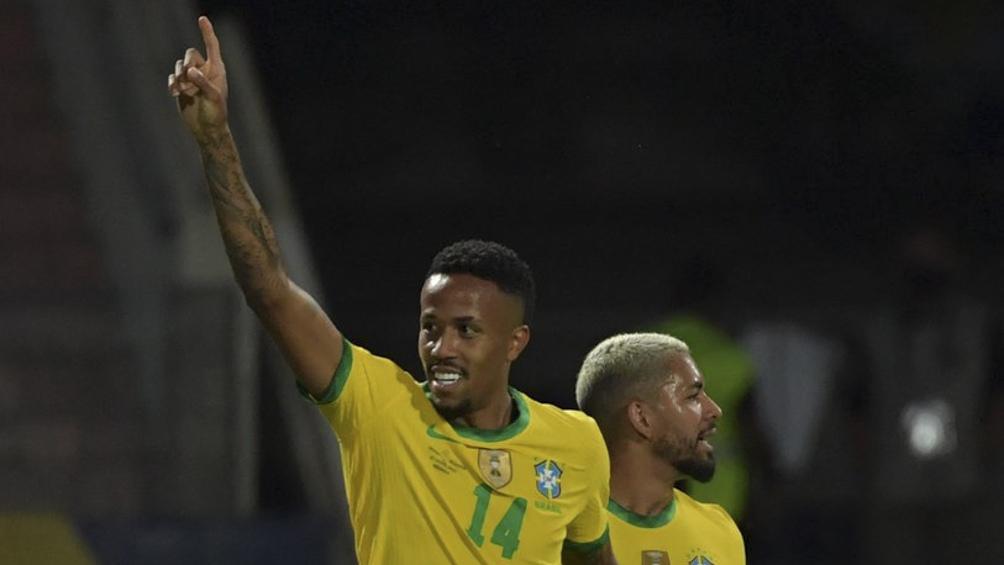 Brasil tuvo en su goleador a Eder Militão (Foto: @CopaAmerica)