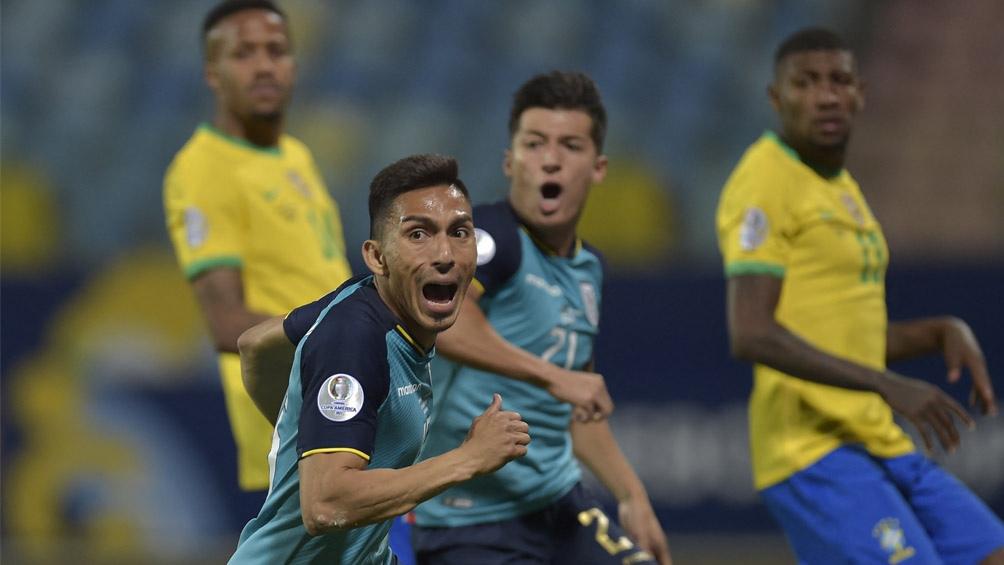 Ecuador logró un empate que le permitió acceder a cuartos de final de la Copa América (Foto: @CopaAmerica)