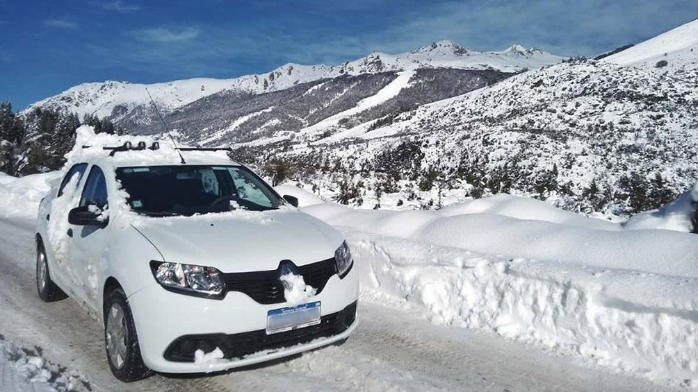 En Bariloche, el SMN registró una temperatura de 8 grados bajo cero a las 9 de la mañana.