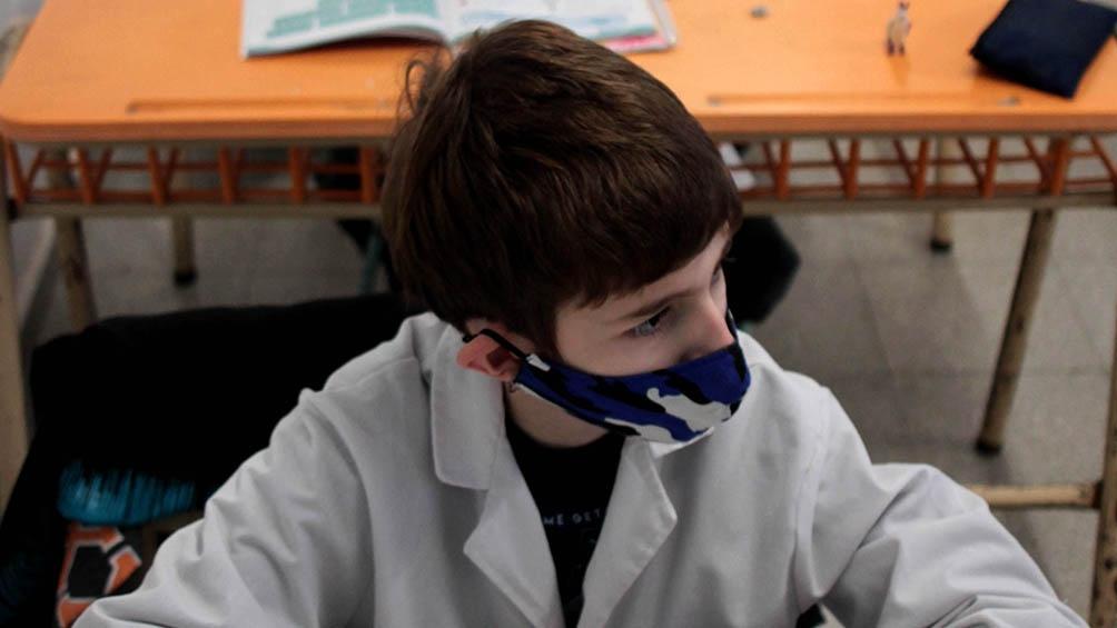 Según Unicef hay un fuerte aumento de la presencialidad escolar.