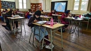 Alumnos de todo el país volvieron a las clases presenciales