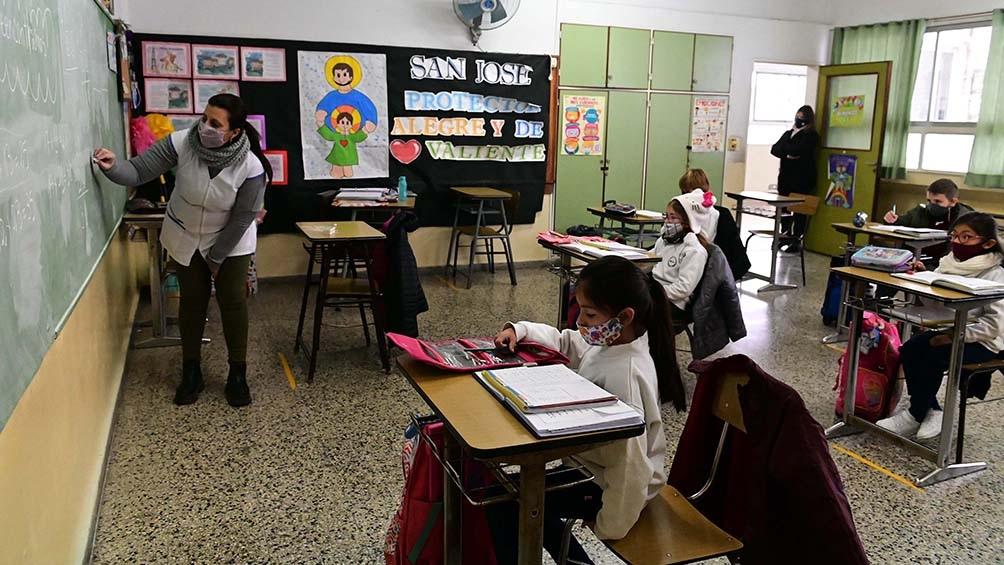 En Río Negro, 230.584 alumnos de todos los niveles volvieron a las aulas con el protocolo de presencialidad cuidada.