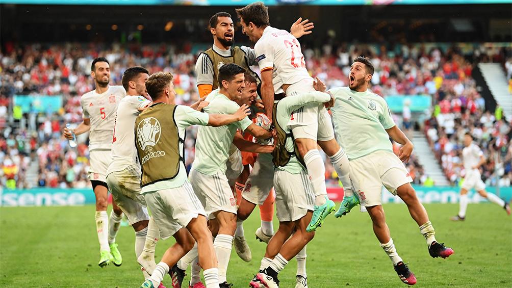 España eliminó a Suiza por penales y se convirtió en semifinalista de la Eurocopa