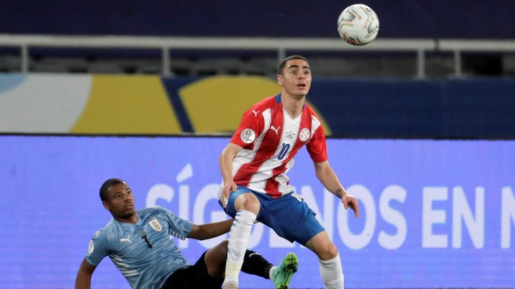 Paraguay y su lucha ante los uruguayos, pero sin la última puntada en ataque (Foto: @CopaAmerica)