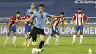 Uruguay y sus goles en Brasil 2021