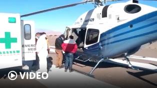 """Desplegaron un operativo de seguridad para asistir a doña Lorenza, la """"ultima diaguita"""""""