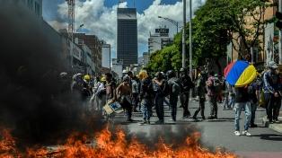 Detuvieron a 134 miembros del grupo de protesta Primera Línea