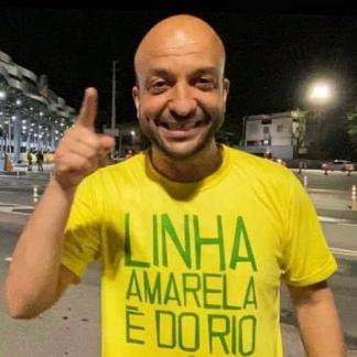El concejal Felipe Michel, hincha de Flamengo y de Boca.