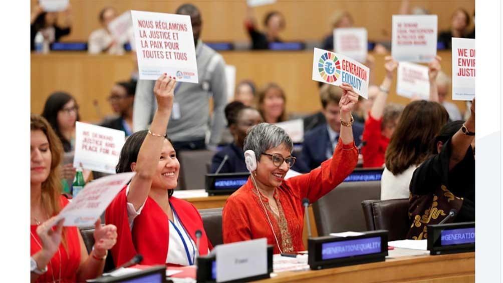 Se renovarán los compromisos de Beijing en el marco del Foro Generación Igualdad 2021