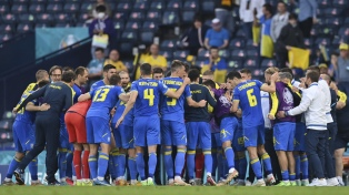 Ucrania eliminó a Suecia en el último minuto de la prórroga y es la sopresa de los cuartos