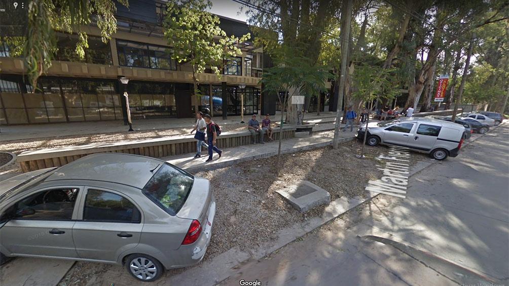 El hecho sucedió el martes pasadas las 14.30 en las oficinas del segundo piso de un edificio ubicado en la calle Martín Fierro al 3200