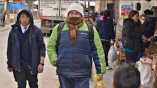 La Quiaca lideró este miércoles el ranking de temperaturas frías con 10 grados bajo cero
