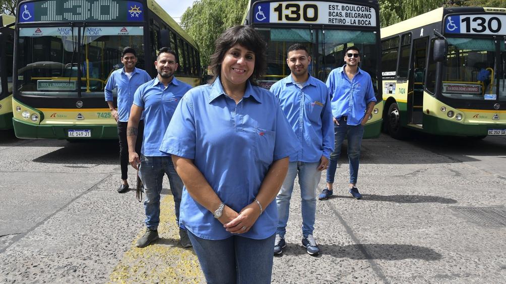 Erica Borda, una de las impulsoras de la equidad en el transporte.
