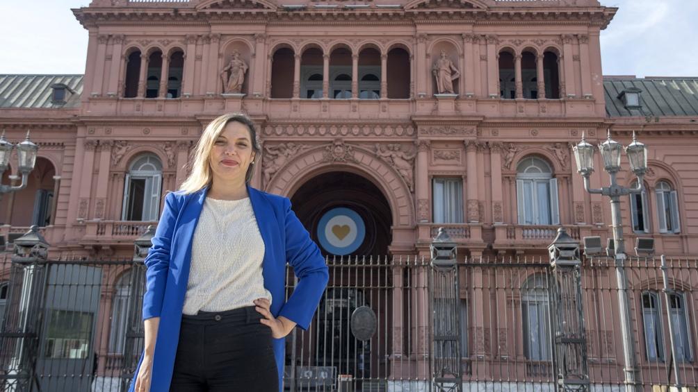 Pamela Ares es subsecretaria de Políticas de Inclusión del Mundo Laboral del Ministerio de Trabajo.
